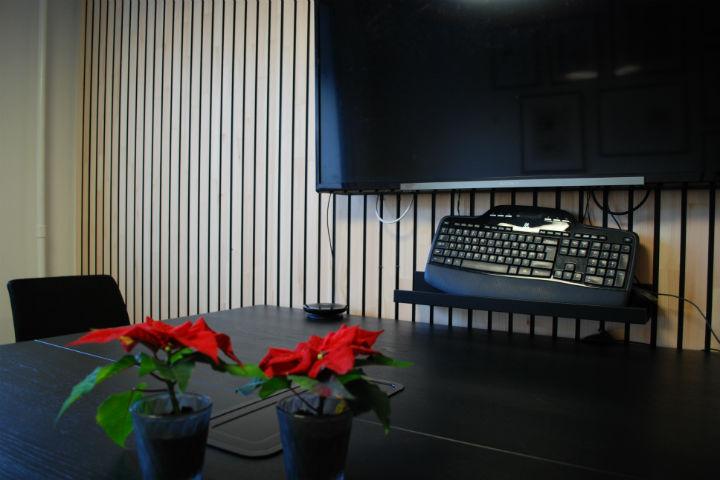 NORTO Bech vægbeklædning i mødelokale