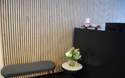 Ordrestyring.dk: Første referenceprojekt med vægbeklædning