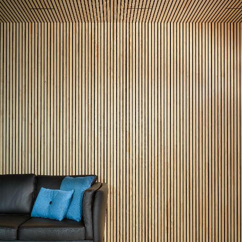 NORTO Bech listebeklædning i træ til loft og væg