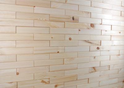 NORTO Leth vægdekoration i et forbandt mønster