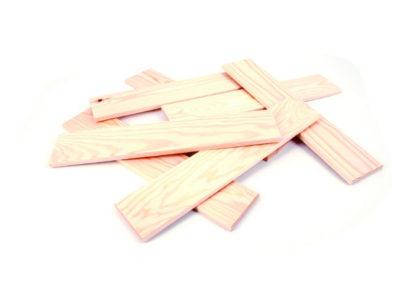 Løse trælister til Leth vægdekoration (420x84x10 mm)