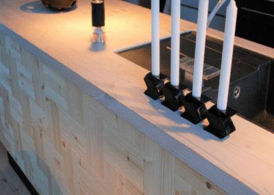 NORTO Leth vægbeklædning i køkken