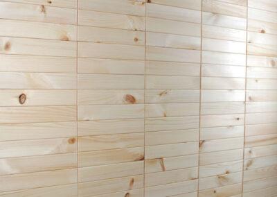 Pine wood wall decoration