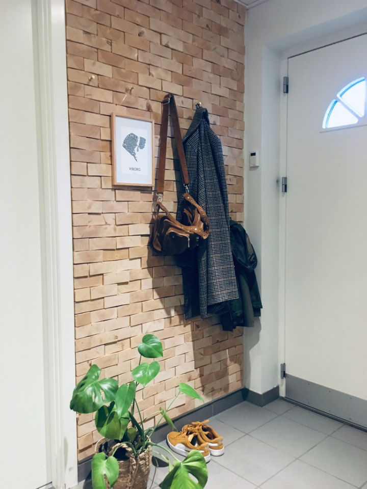 NORTO Skov 135 - Bæredygtig vægbeklædning i entre