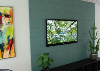 NORTO Friis træpaneler med grøn maling