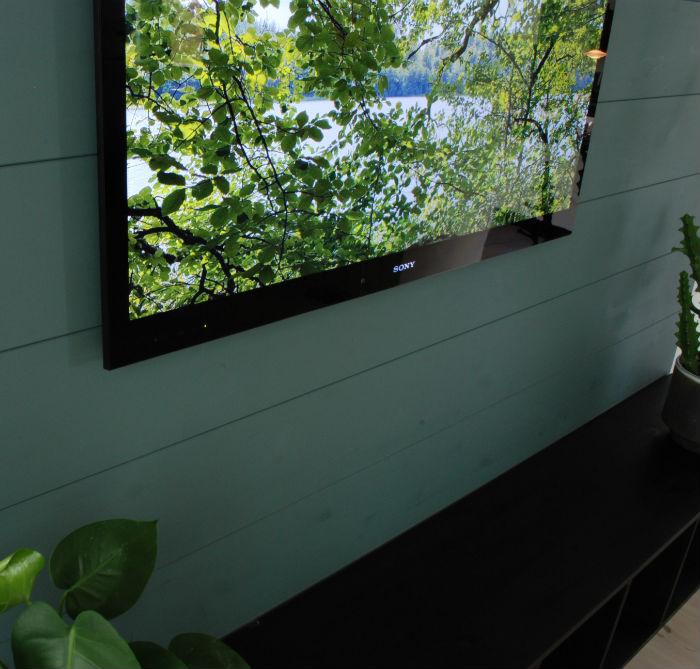 NORTO Friis vægbeklædning med grøn maling