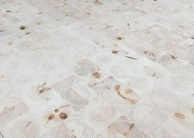 NORTO FloorUP. Bæredygtigt klodsegulv i resttræ
