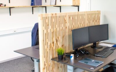 IT company gets new and sustainable office environment