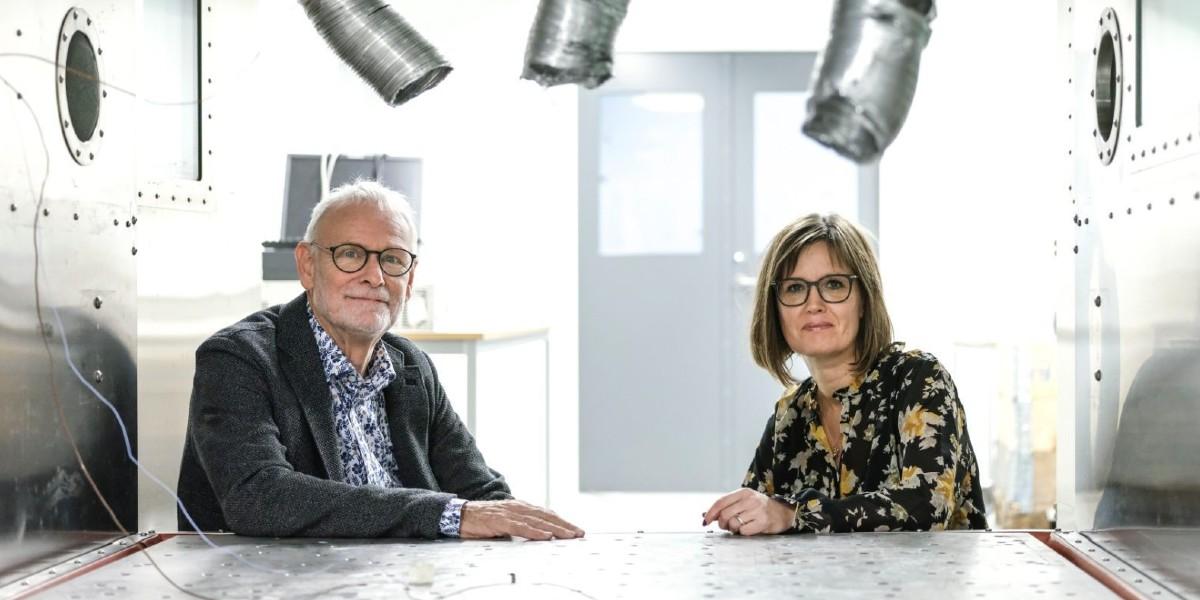 Peter Petersen CEO og Rie Kold Pripsø, CCO hos Sound Hub Denmark