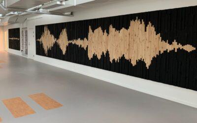 Bæredygtige indretningsløsninger med akustikpaneler i Sound Hub Denmark